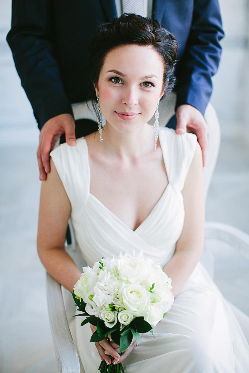 невеста взгляд