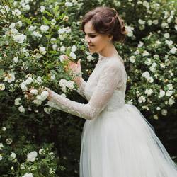нескучный сад свадебная фотосессия