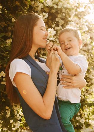 фотосессия мама и сын 1