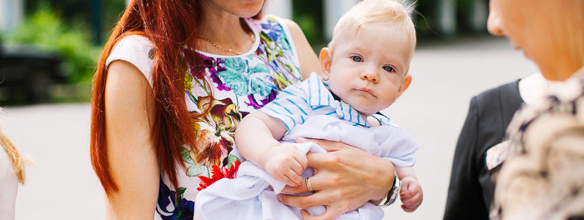 крещение малыша 1