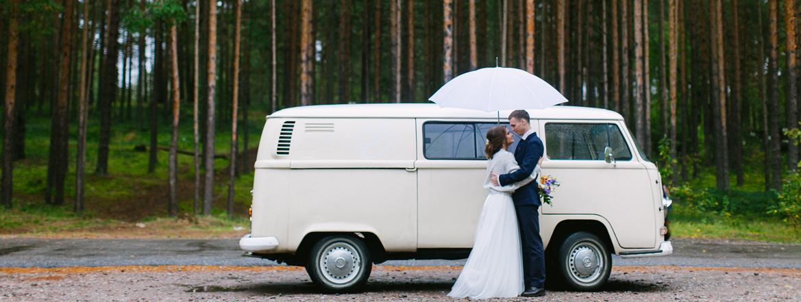 свадебная фотосессия в лесу