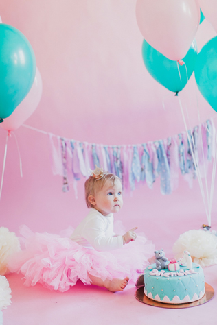 детский день рождение в фотостудии