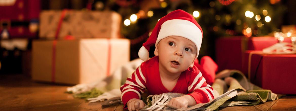 новогодняя фотосессия с малышом