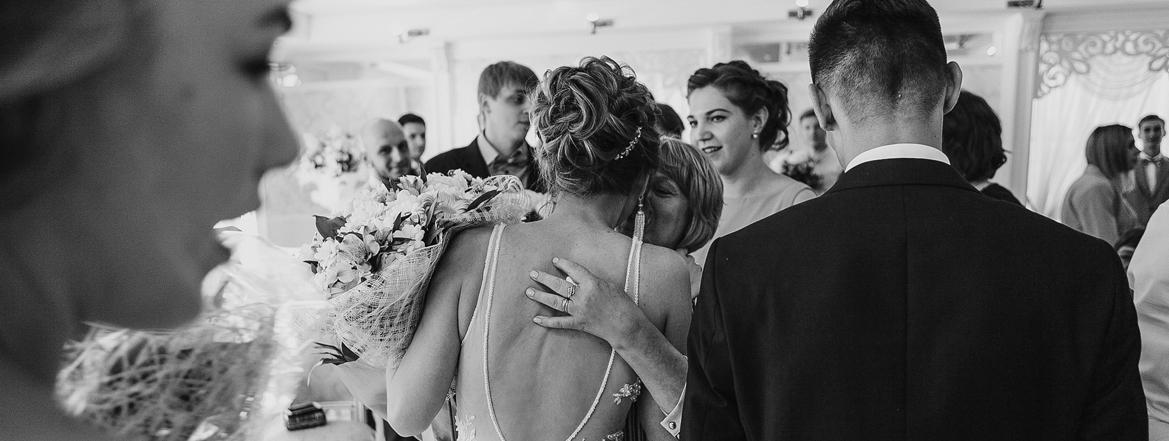 репортаж на свадьбе в загсе