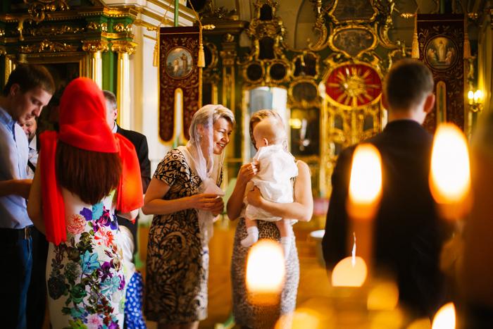 крещение в церкви Москва